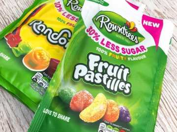 Rowantree Fruit Pastille Randoms 30% less sugar sweets review