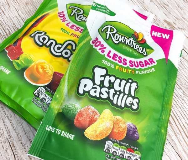 Product Review: 30% Less Sugar Rowntree's Fruit Pastilles and Randoms
