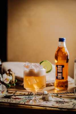 Pickled Ginger sushi glasgow Irn bru cocktail
