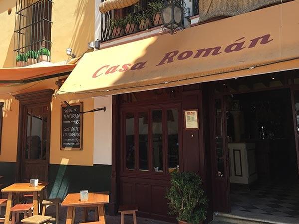 Casa Romana from outside, Seville