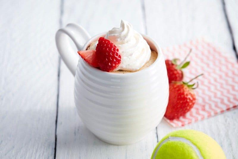 Dr oetker pud in a mug Wimbledon recipe