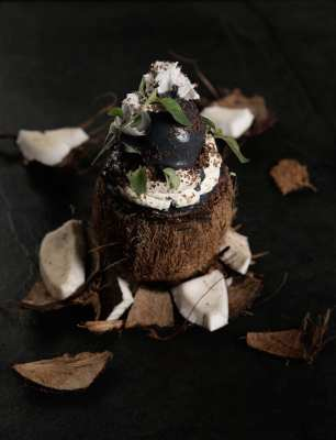Black coconut malmaison limited edition ice cream