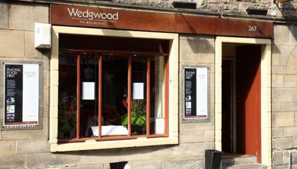 Wedgwood Edinburgh restaurant