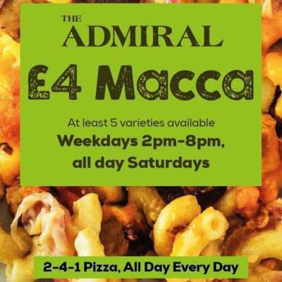 The Admiral mac n cheese