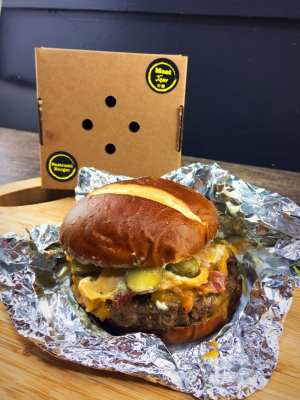 Meat jam glasgow gourmet burger delivery