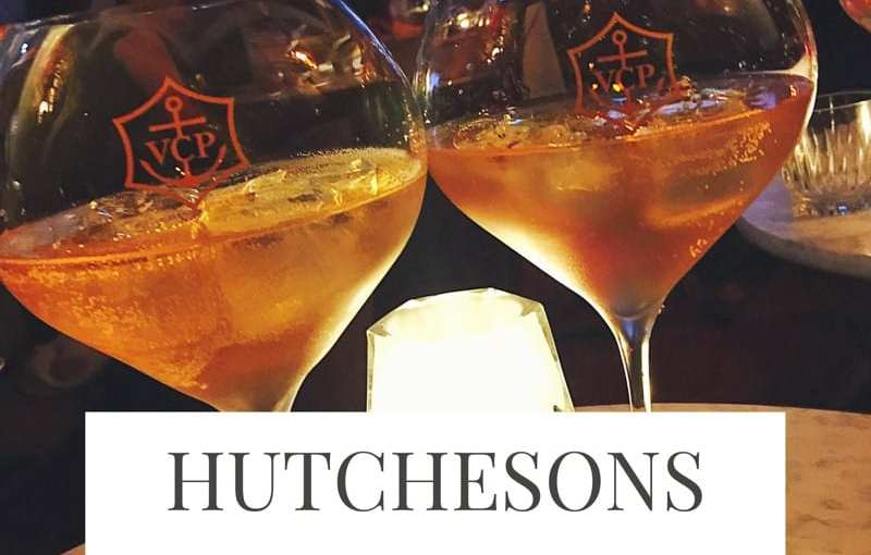 Look inside Hutchesons City Grill and 158 Lounge Bar with Veuve Clicquot