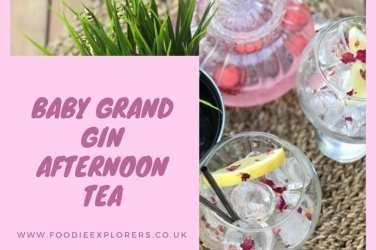 Boe Gin baby Grand afternoon tea