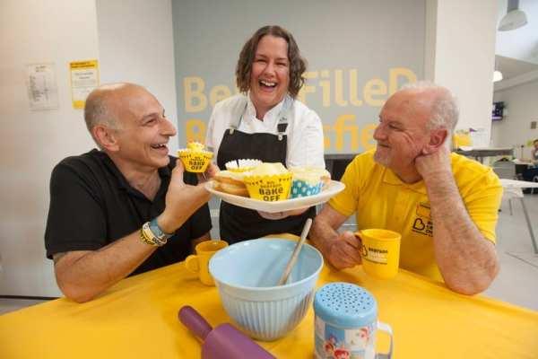 Beatson Bake Off Helen vass