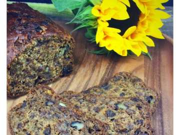 Courgette tea loaf recipe
