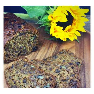 Courgette tea loaf recipe