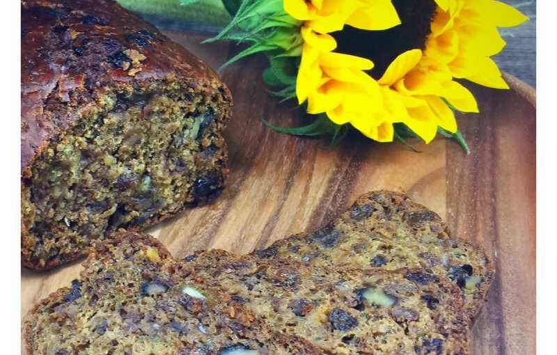 Recipe: Courgette Tea Loaf