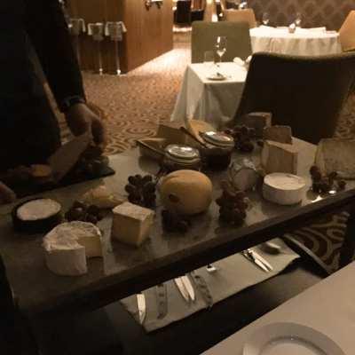GalgormResort_.cheese table