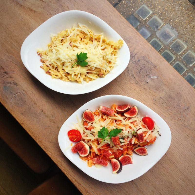 Vapiano pasta dishes