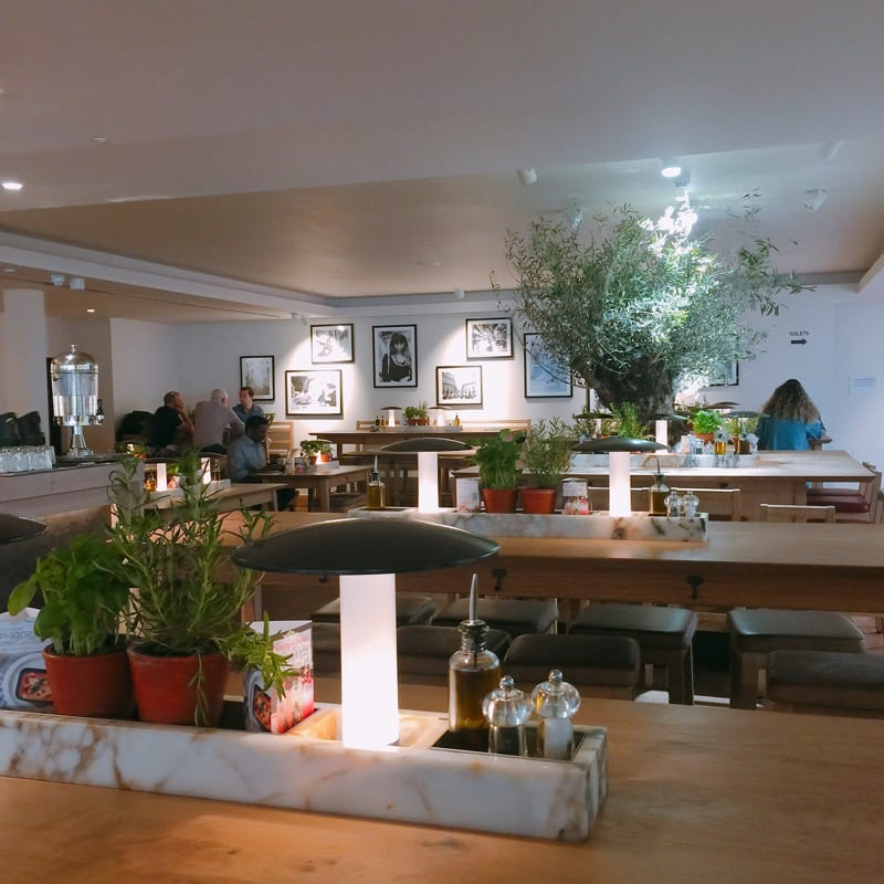 Vapiano London Glasgow Edinburgh restaurant italian