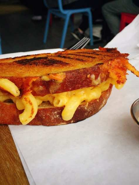 Cafe 13 Govan mac n cheese toastie glasgow Foodie
