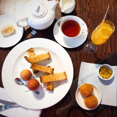 Breakfast The perfectionists cafe Heathrow Heston