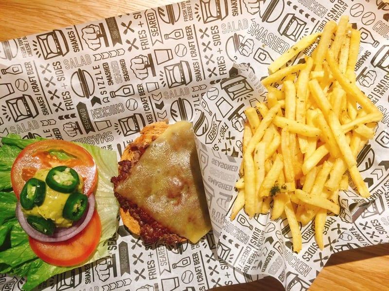 Smashburger Glasgow new burger opening