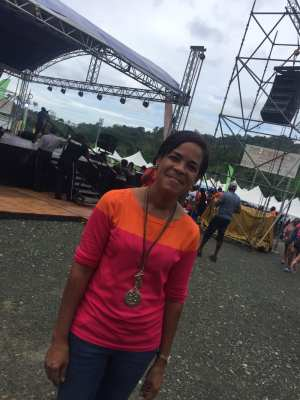Chef Debra Sardinha Metivier Blue food festival Tobago