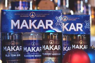Foodie Explorers Christmas countdown MAKAR Gin