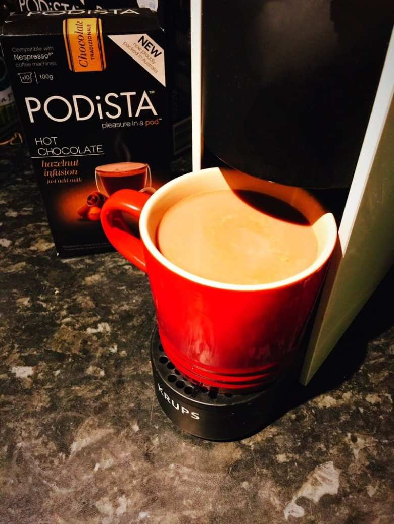 Nespresso compatible hot chocolate pods mugpods