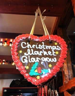 Glasgow Christmas markets George Square st Enoch square