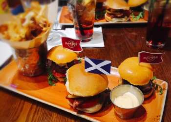 Hard Rock Cafe Glasgow St. Andrew's day