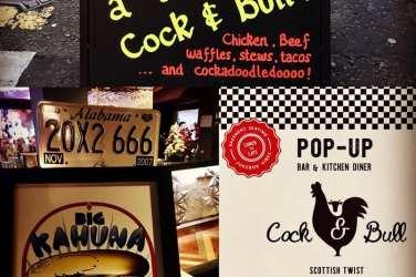 Cock and Bull Kitchen Edinburgh