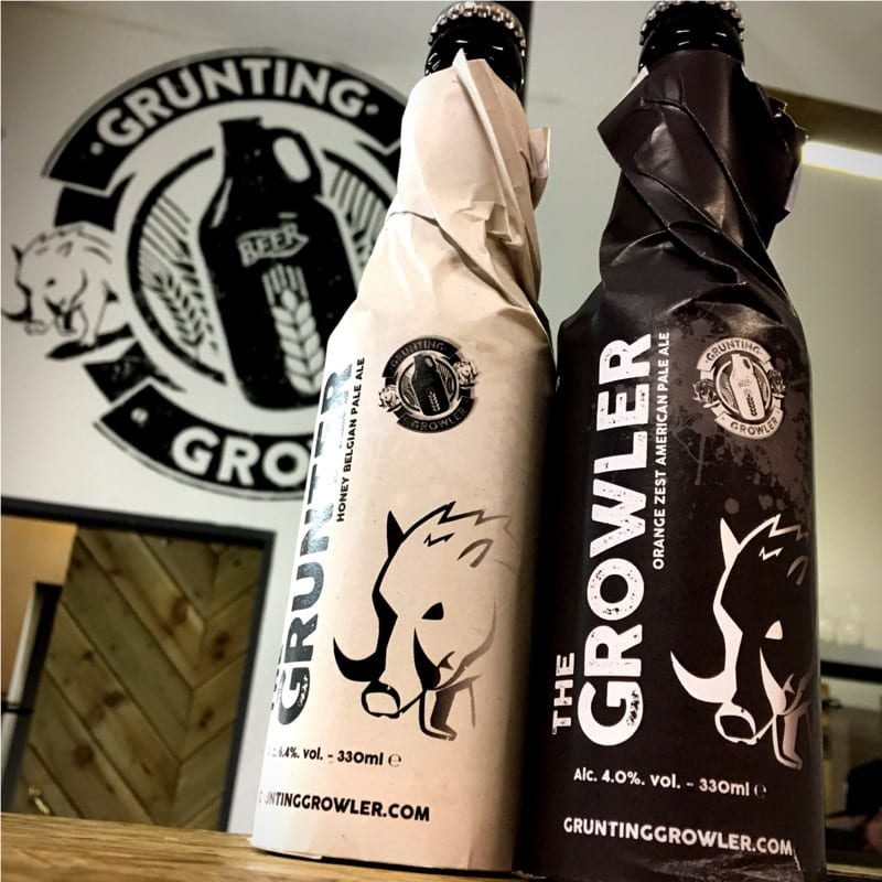 Beer Christmas Gifts.Grunting Growler Christmas Gifts For Beer Fans Foodie