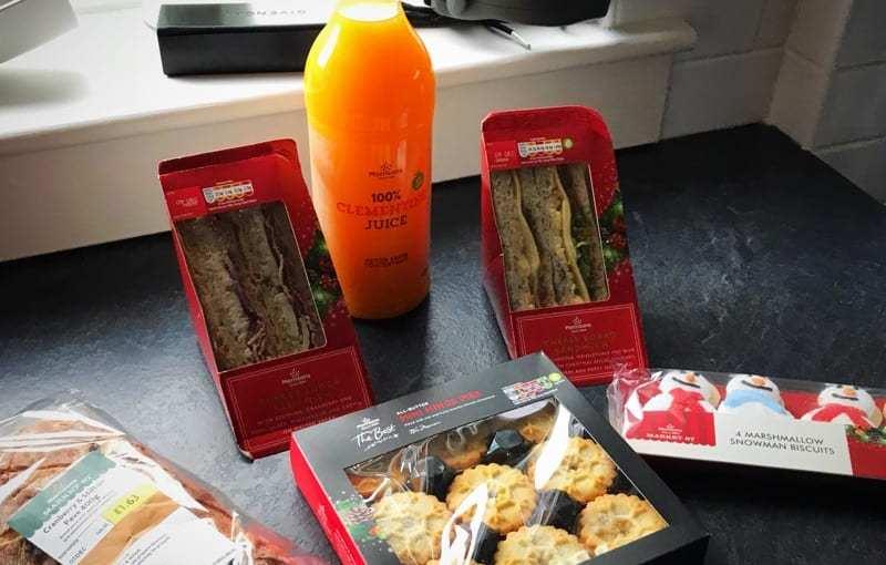 Morrisons Christmas Sandwiches