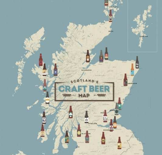 Scottish Craft Beer Map launched by Visit Scotland