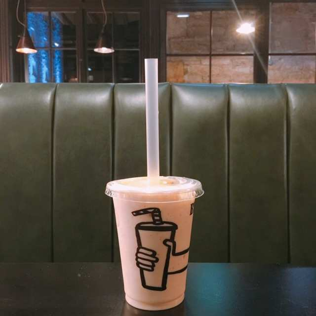 Byron - Irn-Bru milkshake