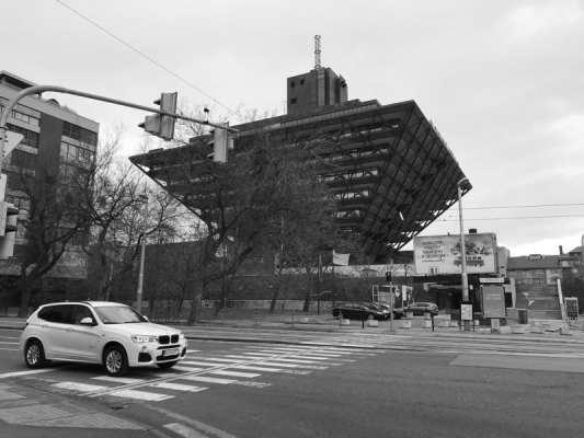 Slovakia radio building Bratislava