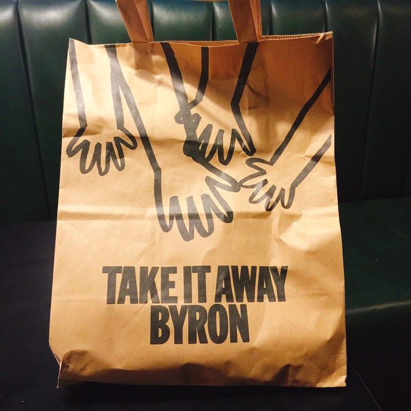 Byron - takeaway bag