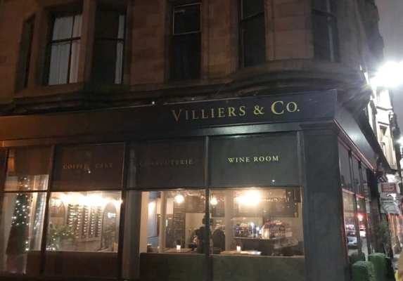 Villiers & Co Glasgow food blog Woodlands Road