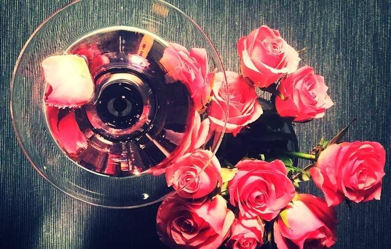 Cocktail Recipe: Valentine's Rose Martini Gin Cocktail