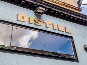 Distill Finnieston bar closing Glasgow foodie explorers
