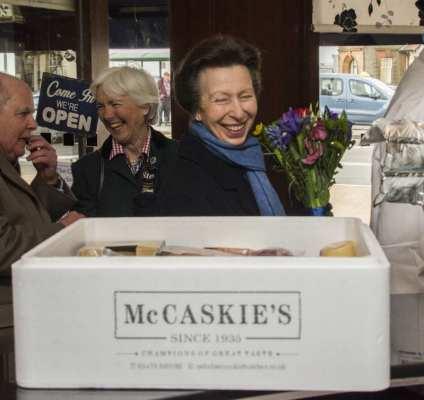 McCaskies WEMYSS Bay princess Anne