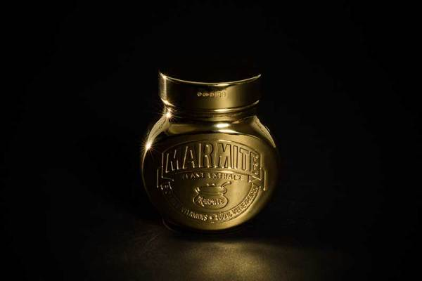 Gold-plated Marmite