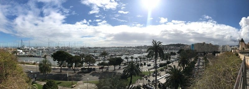 Palma sea view