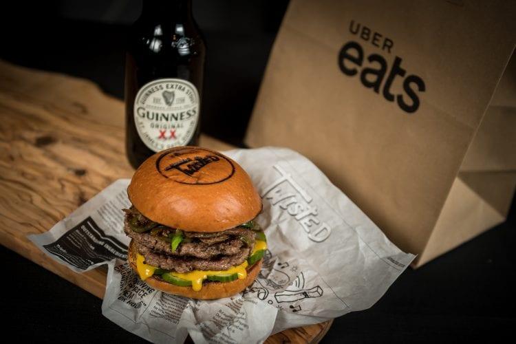 Uber eats st Patrick's day foodie explorers food blog