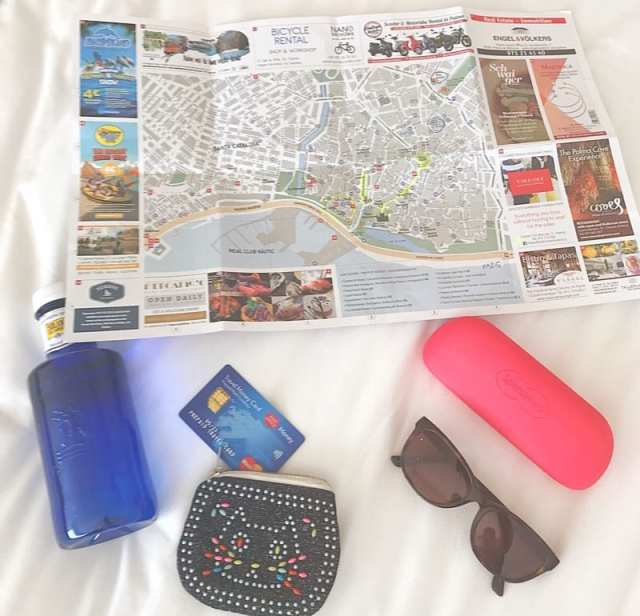 Post office travel sorted money card Palma Mallorca foodie Explorers