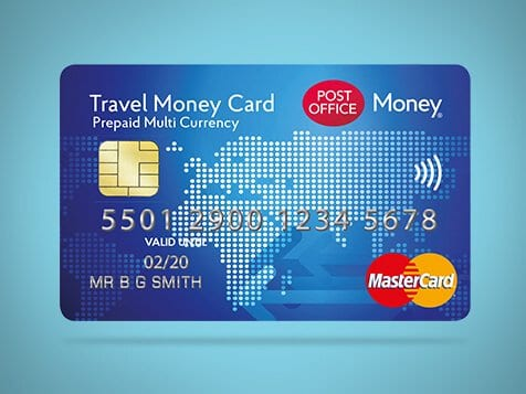 The post office travel money card foodie explorers Glasgow blog