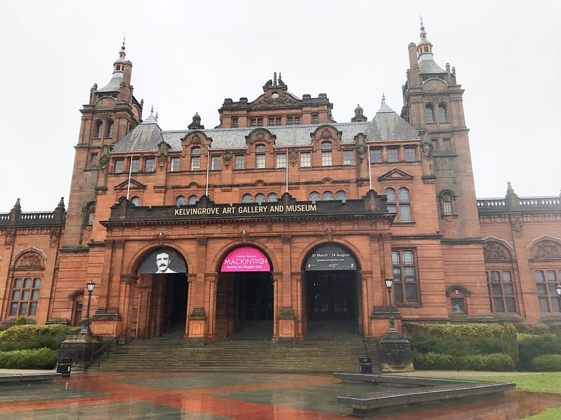 Mackintosh 150 glasgow kelvingrove