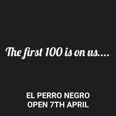 El Perro negro Glasgow opening