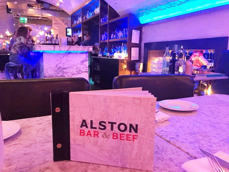 Foodie Explorers Glasgow food blog Alston Bar and beef gin masterclass