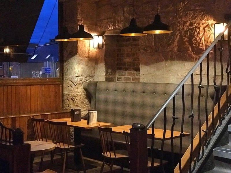 Behind the wall Falkirk Foodie Explorers Glasgow food blog behind the wall Falkirk