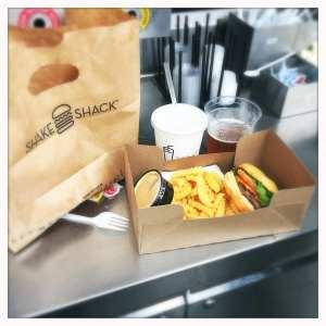 Shake Shack burger meal 2