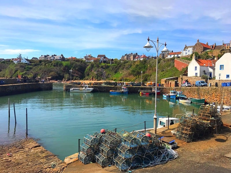 Crail harbour feast of fife