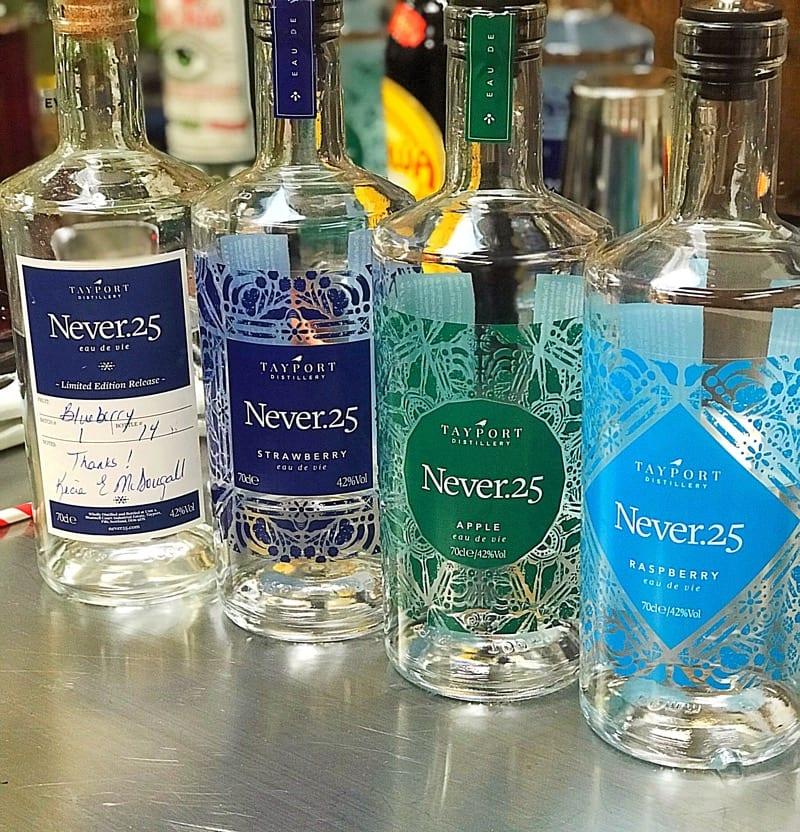 Tayport Distillery Never.25 eau de vie