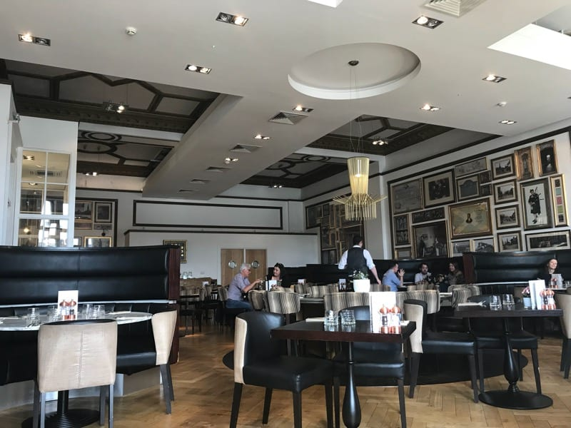 Twenty Princes street Edinburgh foodie explorers restaurant review